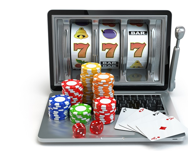 Casino online concept