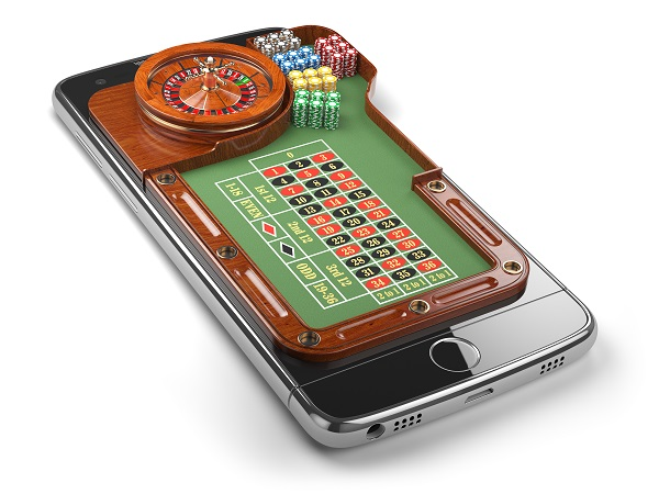 Mobile phone with roulette